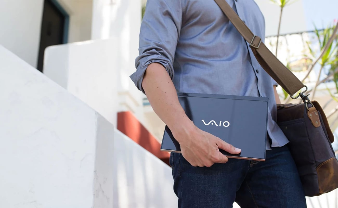 VAIO SX12 Ultracompact Laptop weighs just 2 pounds but has 6 ports