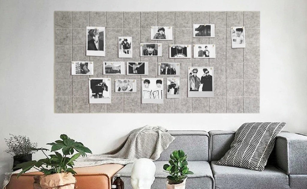 Wall-Mounted+Felt+Message+Board+keeps+your+important+stuff+where+you+can+see+it