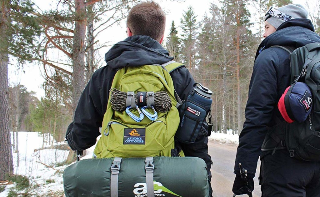 Wild+Wolf+Outfitters+Water+Bottle+Holder+Padded+Drink+Insulator+provides+a+hands-free+bottle+carrier