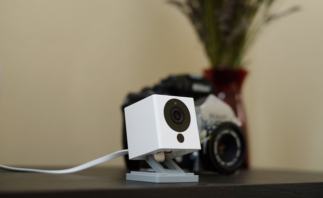 WyzeCam 1080p Full HD Camera provides super clear images so you see it all