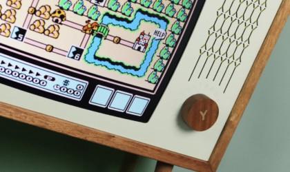 Yesterday Vision Hardwood Gaming Monitor