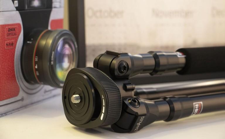 ZAHALEG Innovative Camera Tripod Leg sets up with a single motion