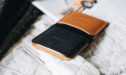 band&roll Kangaroo Leather Smartphone Wallet Case
