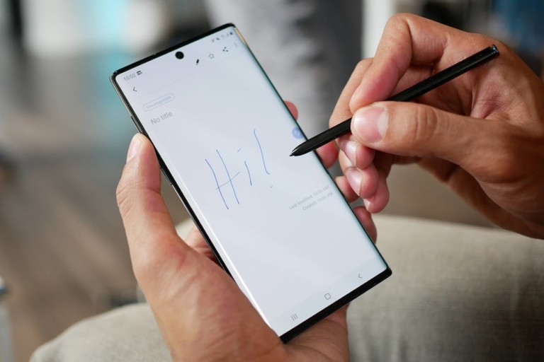 10 Best smartphones that are as good as the iPhone - Samsung Galaxy Note10 02