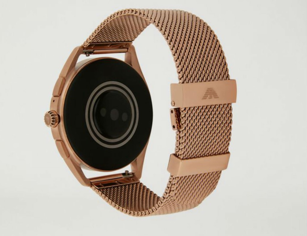 The best minimalist smartwatch designs of 2019 - Emporio Armani 02