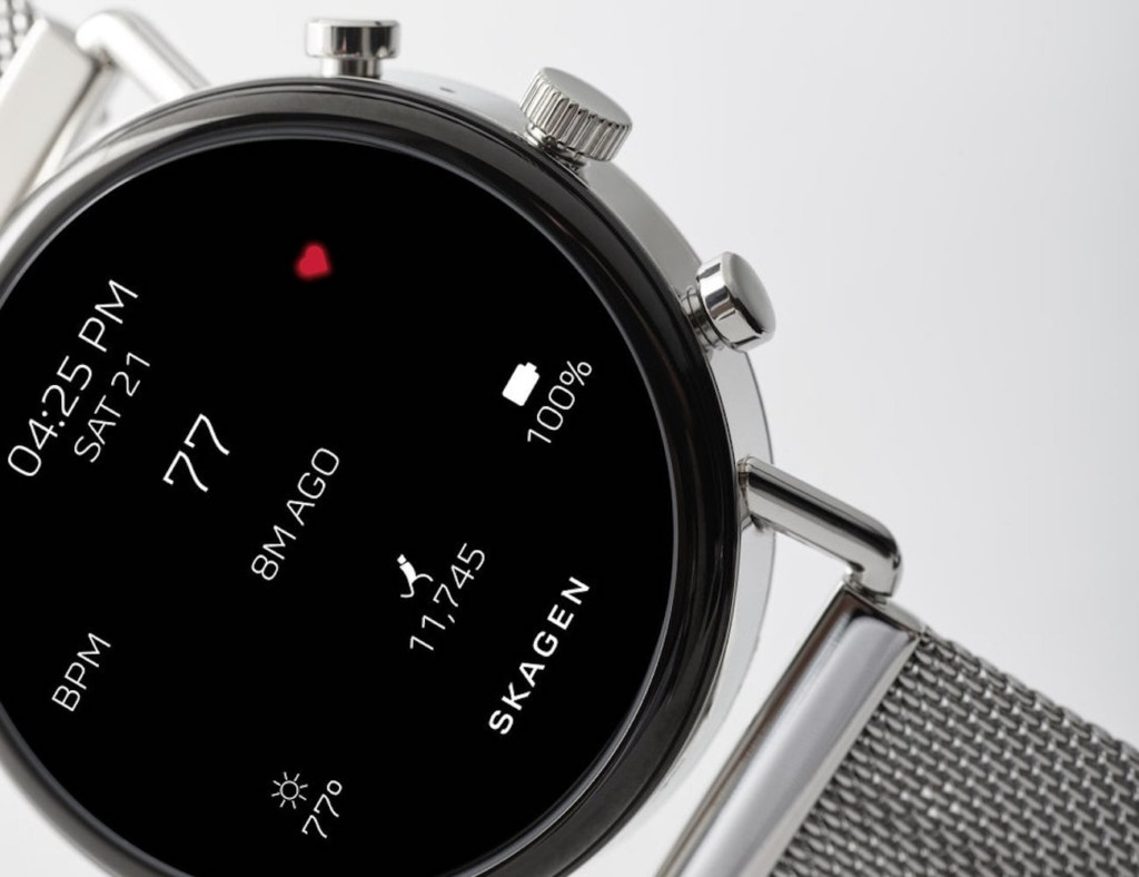 The best minimalist smartwatch designs of 2019 - Skagen Falster 2 01