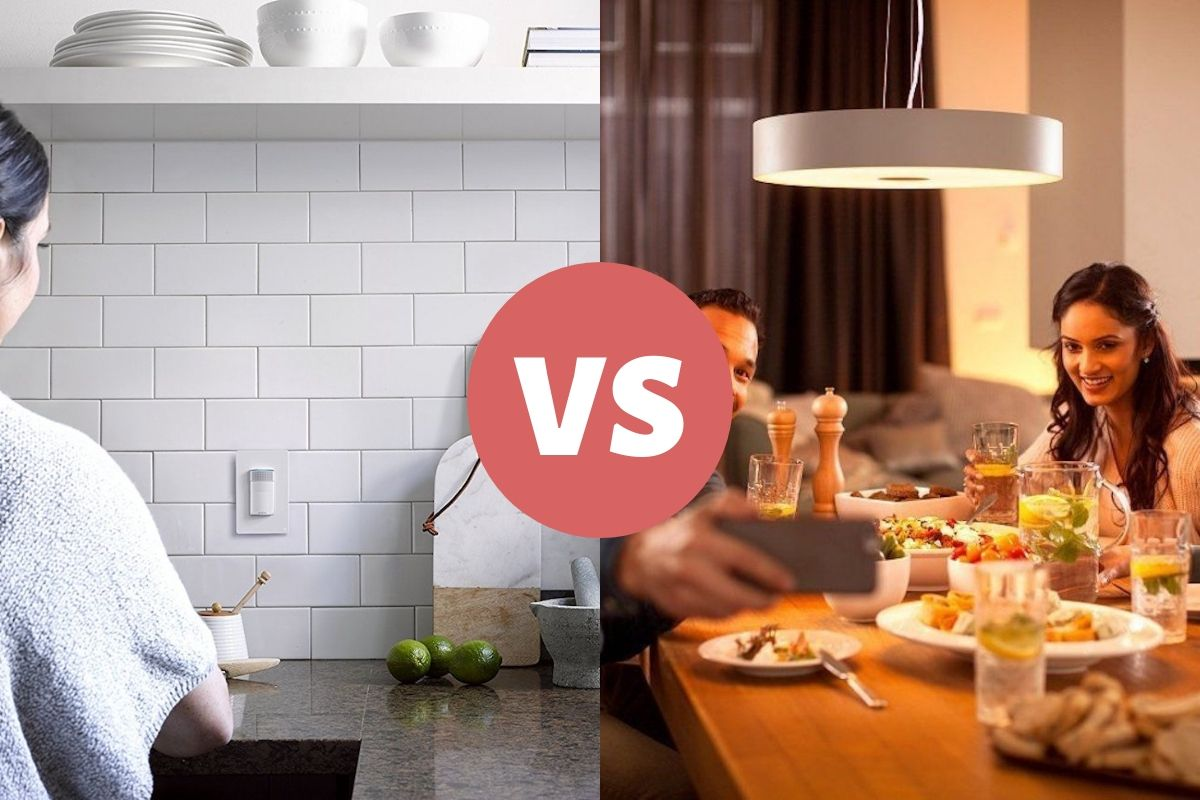 Smart lamp vs. smart light switch – which one should you buy?