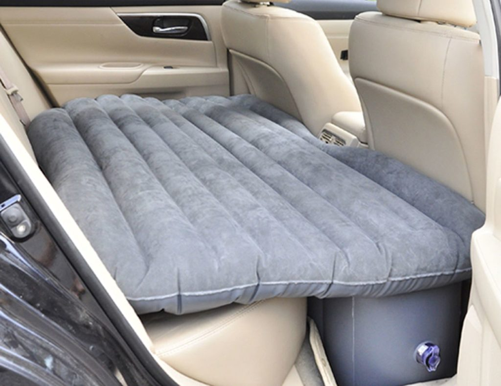 13 Travel tech and gadgets for every adventure - Inflatable Car Mattress 03