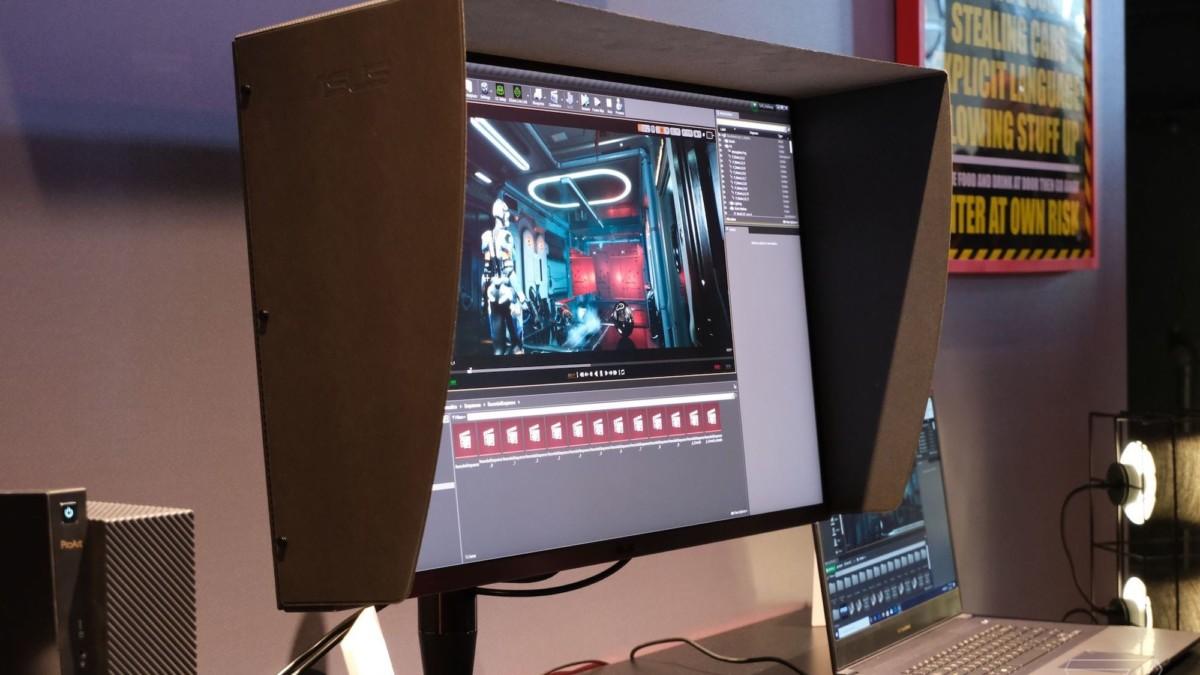 ASUS ProArt 32″ Display Professional Monitor gives you 1600 nits of maximum brightness