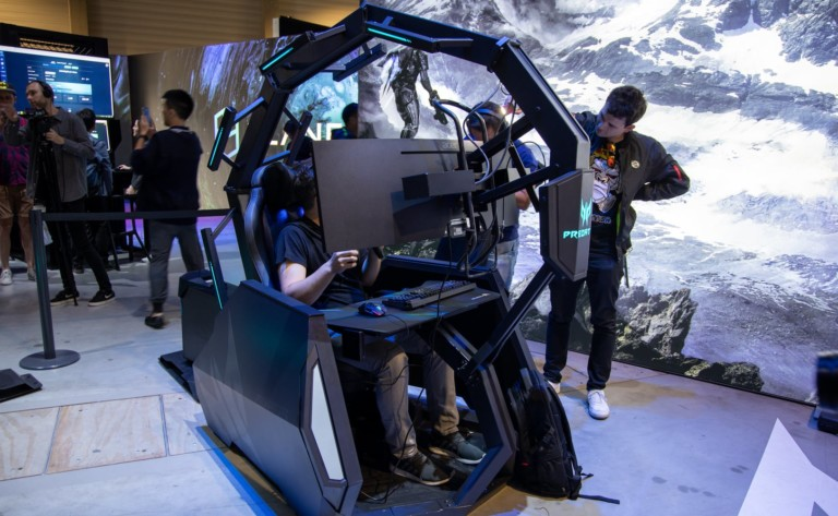 Acer Predator Thronos Air Gaming Chair is a powerful seat that reclines up to 140º