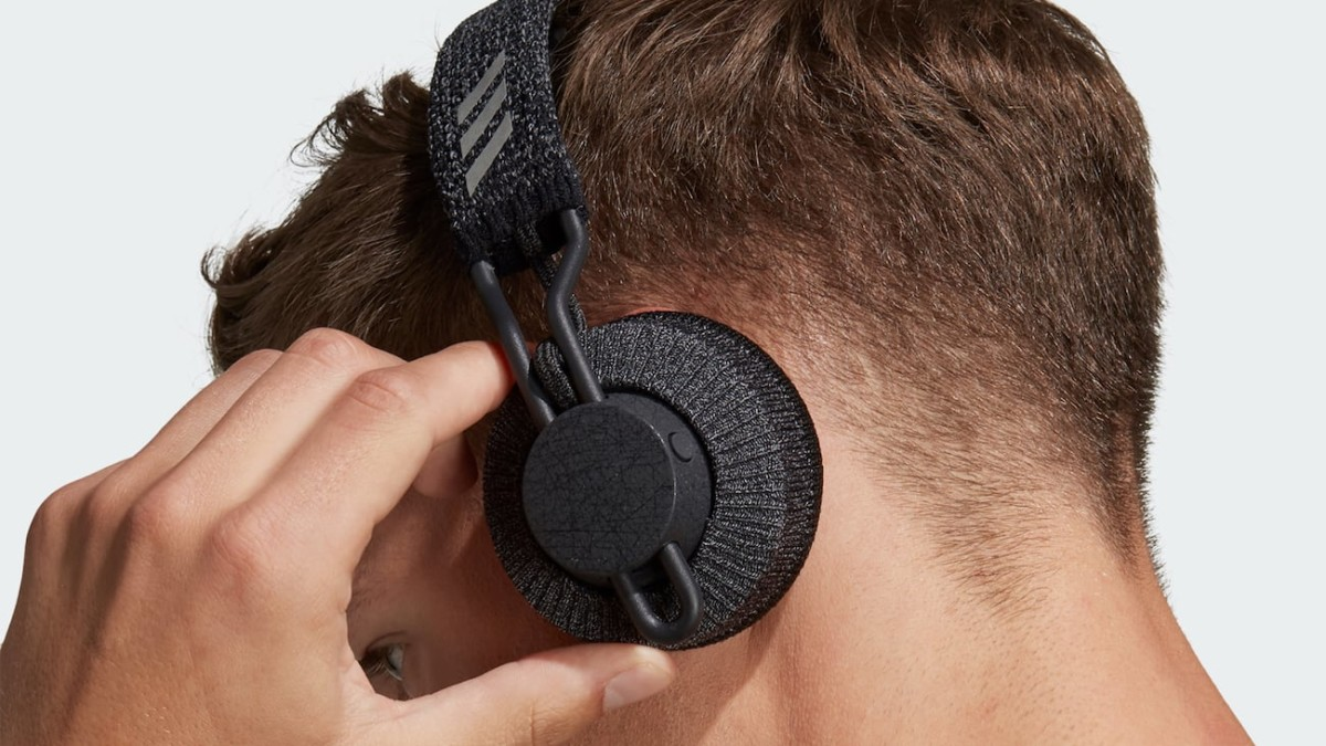 Adidas RPT-01 SPORT On-Ear Headphones have an IPX4 waterproof rating