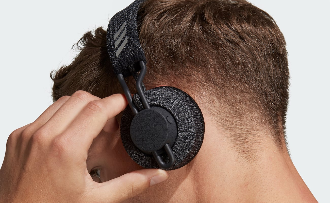 Adidas RPT-01 SPORT On-Ear Headphones have an IPX4 waterproof rating