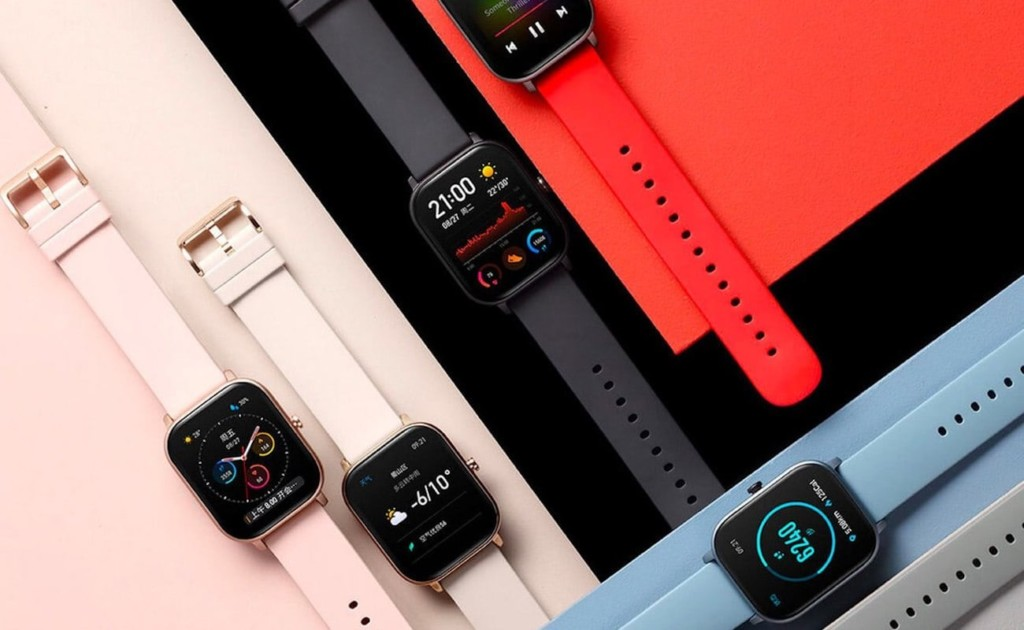 Amazfit+GTS+AMOLED+Smartwatch+provides+a+beautiful+display+in+a+sleek+body