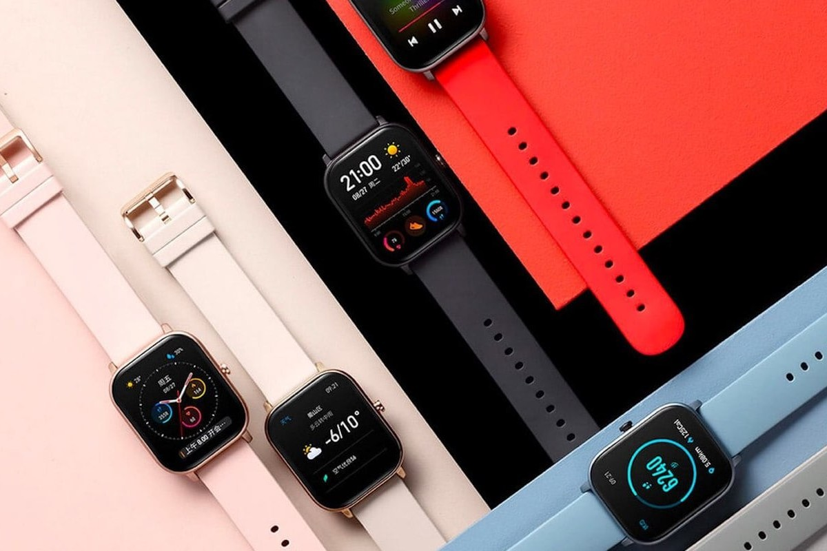 Amazfit GTS AMOLED Smartwatch provides a beautiful display in a sleek body