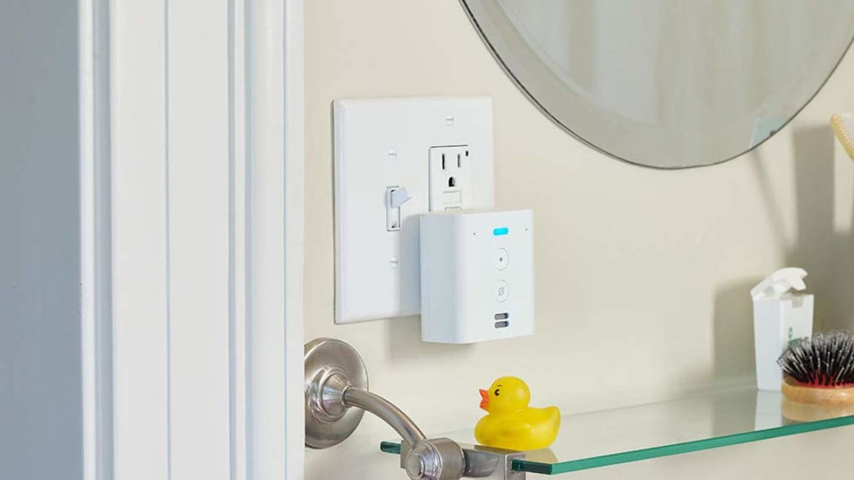 Amazon Echo Flex Smart Outlet Speaker extends your Alexa range