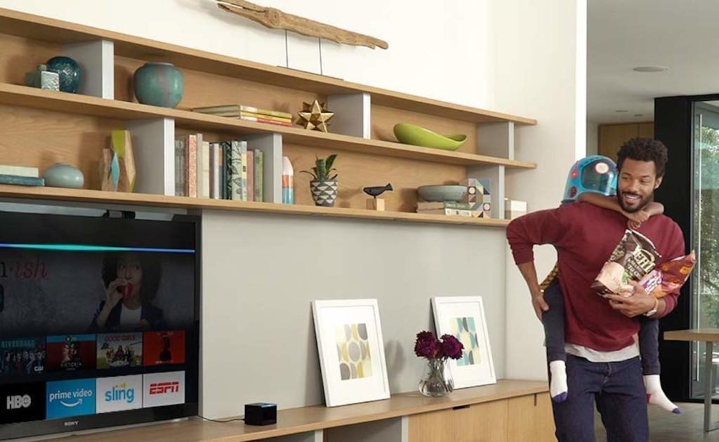 Amazon Fire TV Cube Alexa Streaming Box