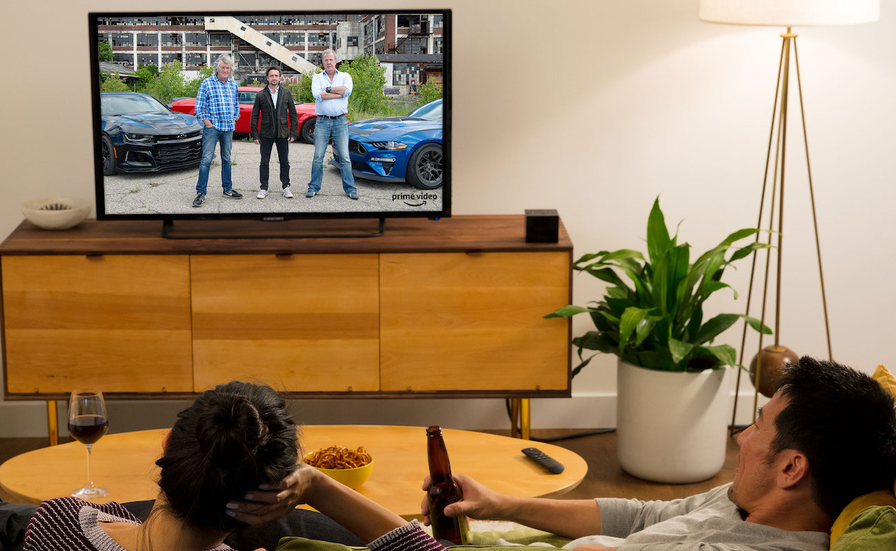 Amazon Fire TV Cube Alexa Streaming Box gives you voice control of your television and home