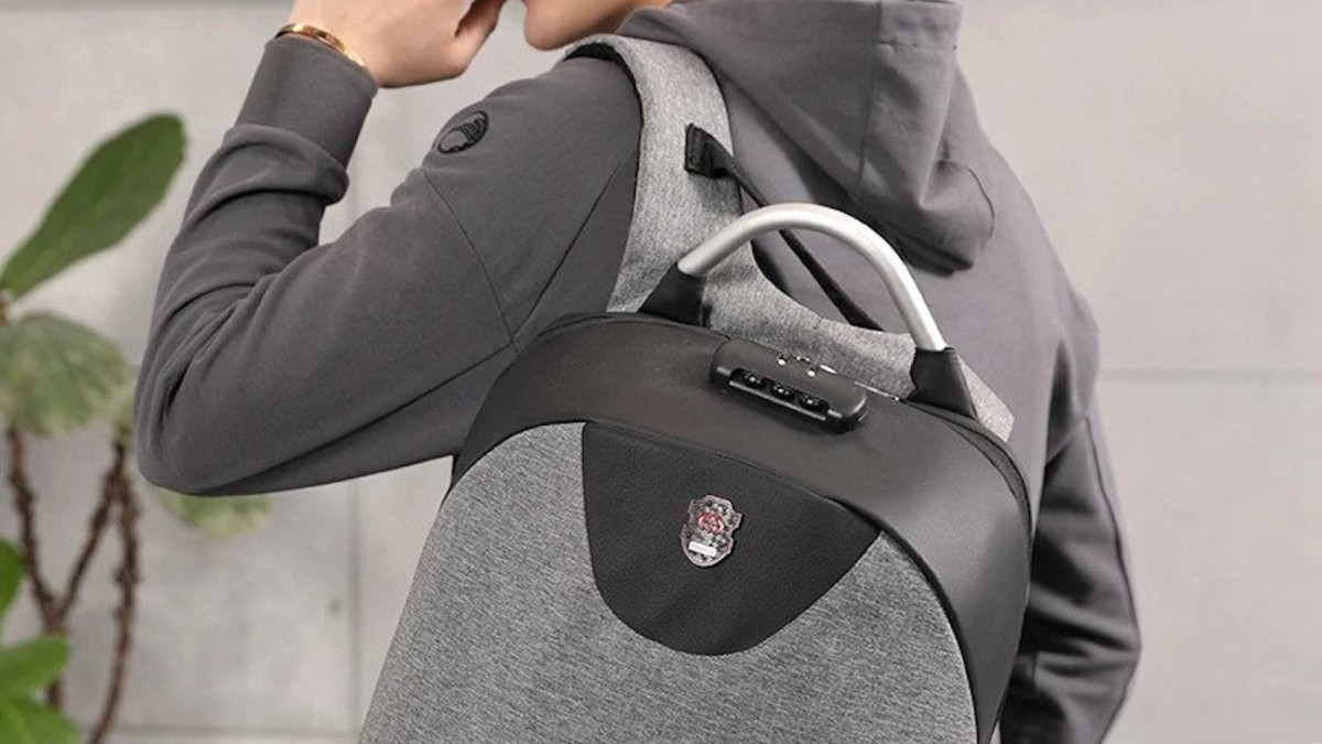 Anti-Theft Password-Protected Backpack offers total peace of mind