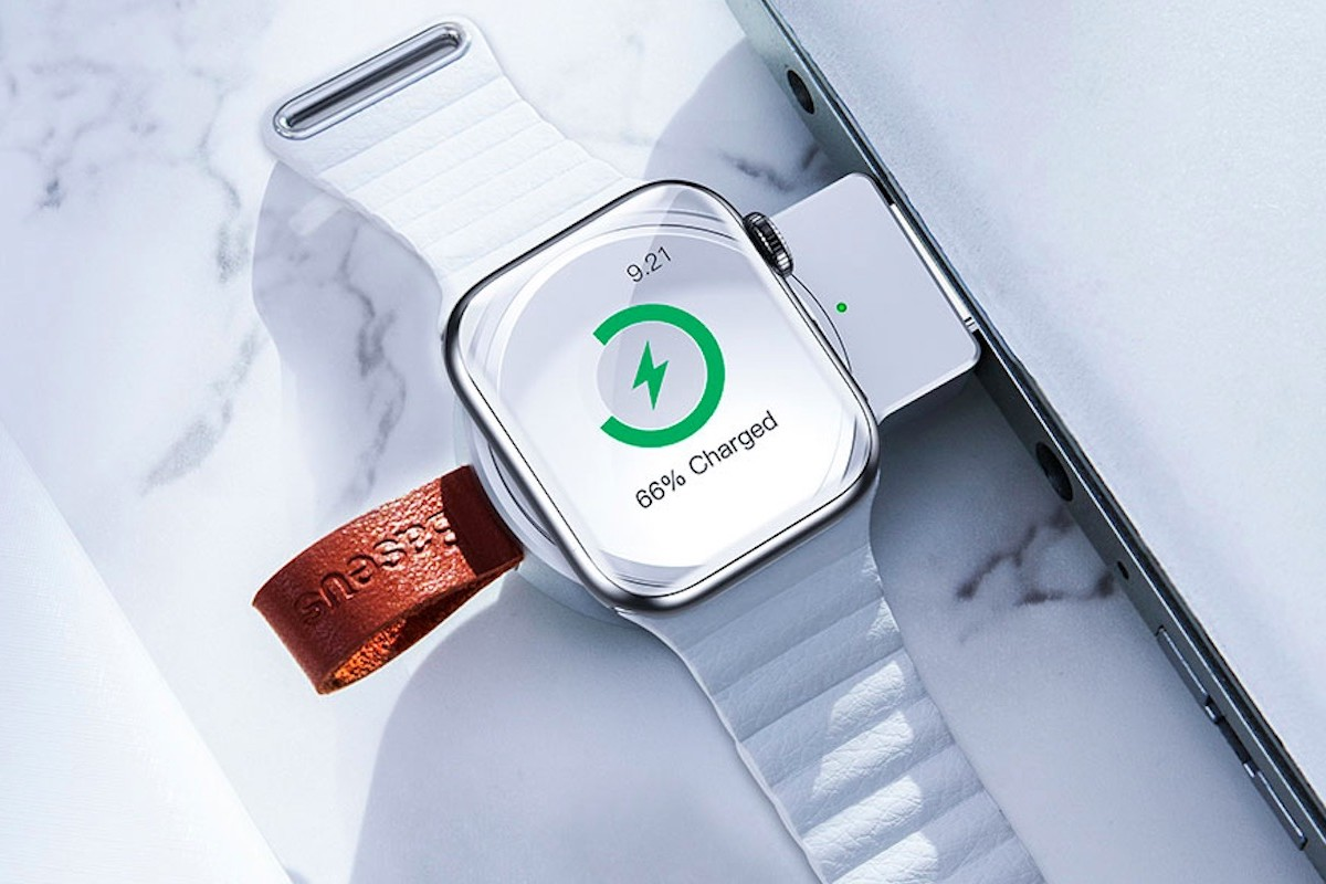 Baseus Portable Apple Watch Wireless Charger lets you charge anywhere