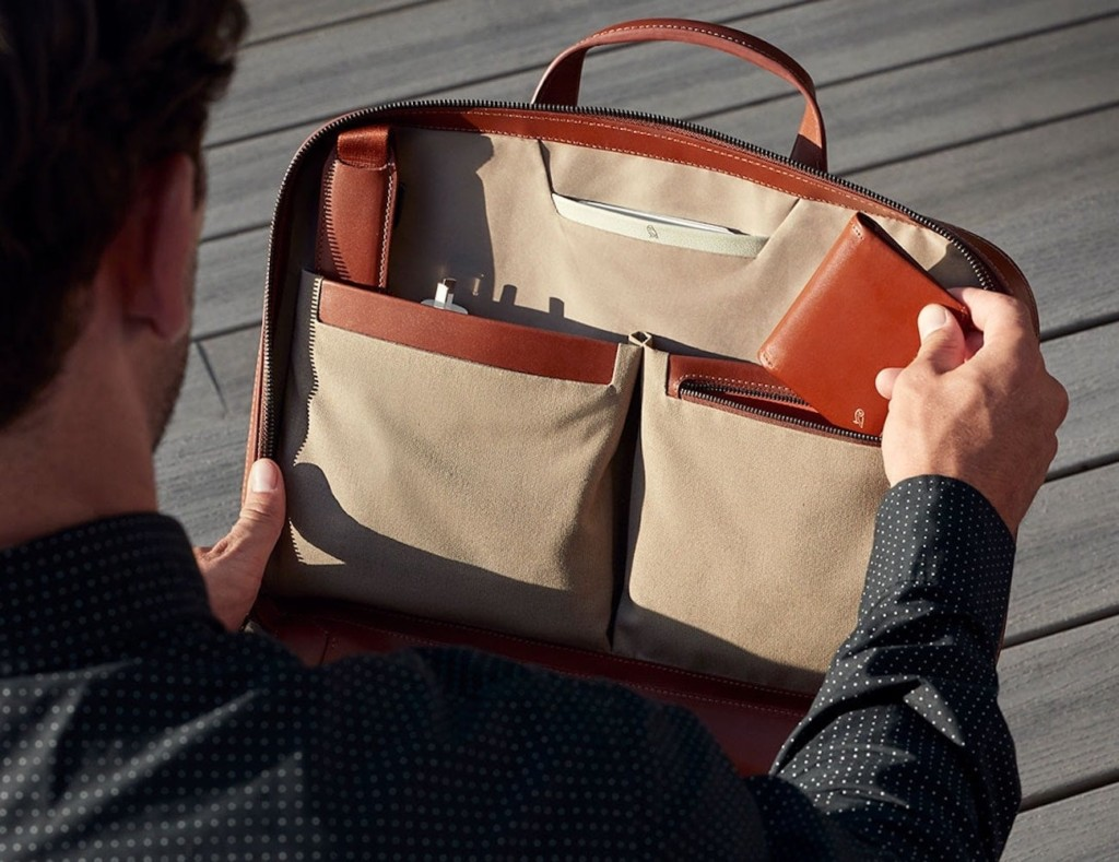 Bellroy Leather Laptop Brief
