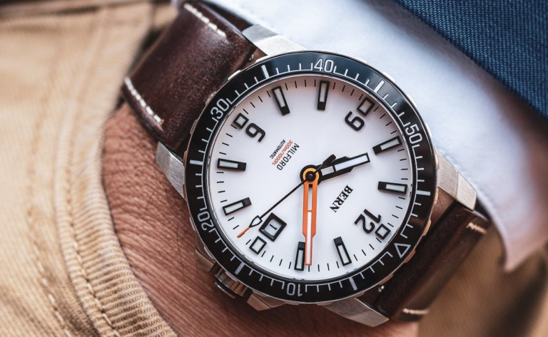 Bern Milford Diver Mechanical Watch Series can go as deep as 1,000 feet