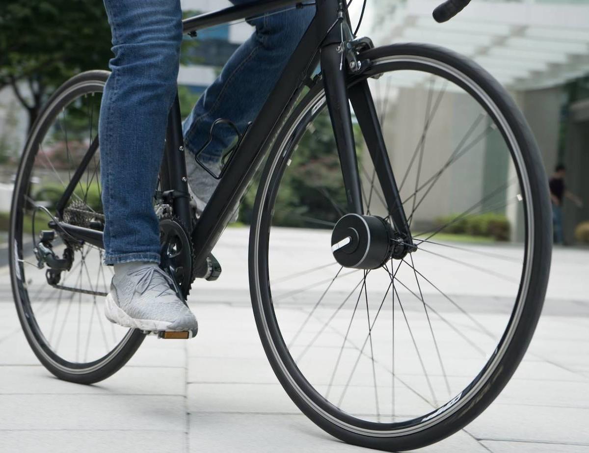 Bisecu Smart Bike Lock helps prevent theft with a 100-decibel alarm