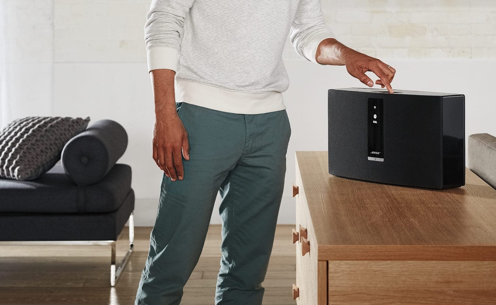 Bose SoundTouch 30 Powerful Wireless Speaker streams from nearly any source
