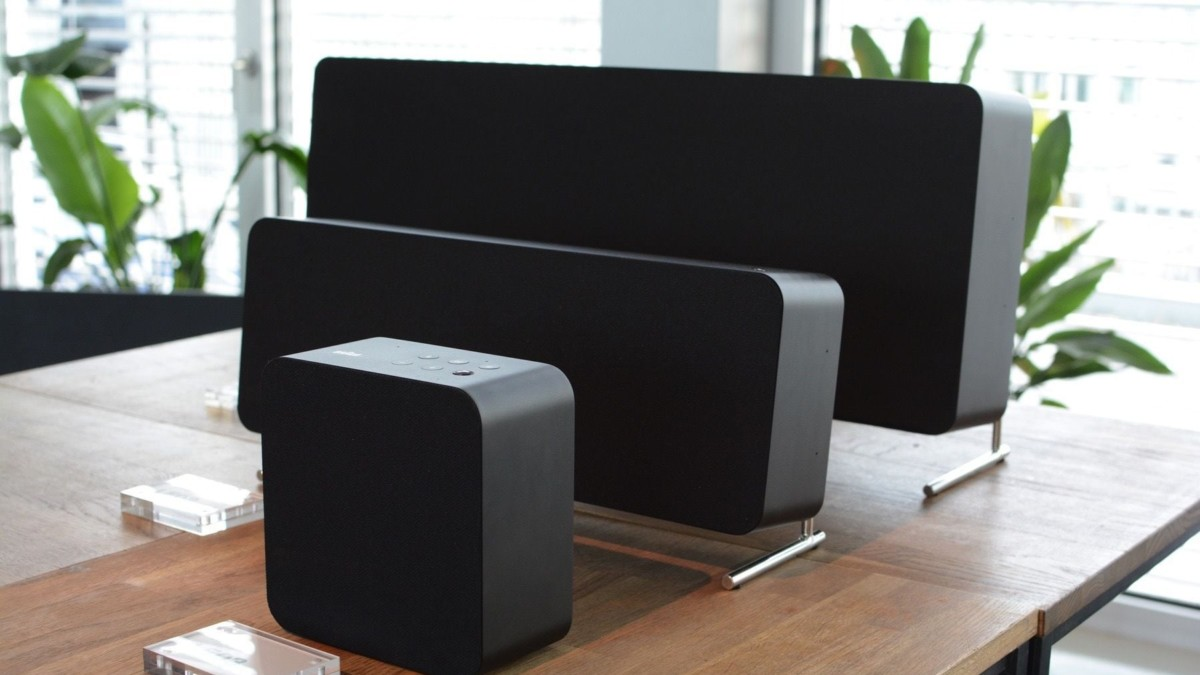 Braun LE Series Speaker Line is a modern take on a minimalist classic