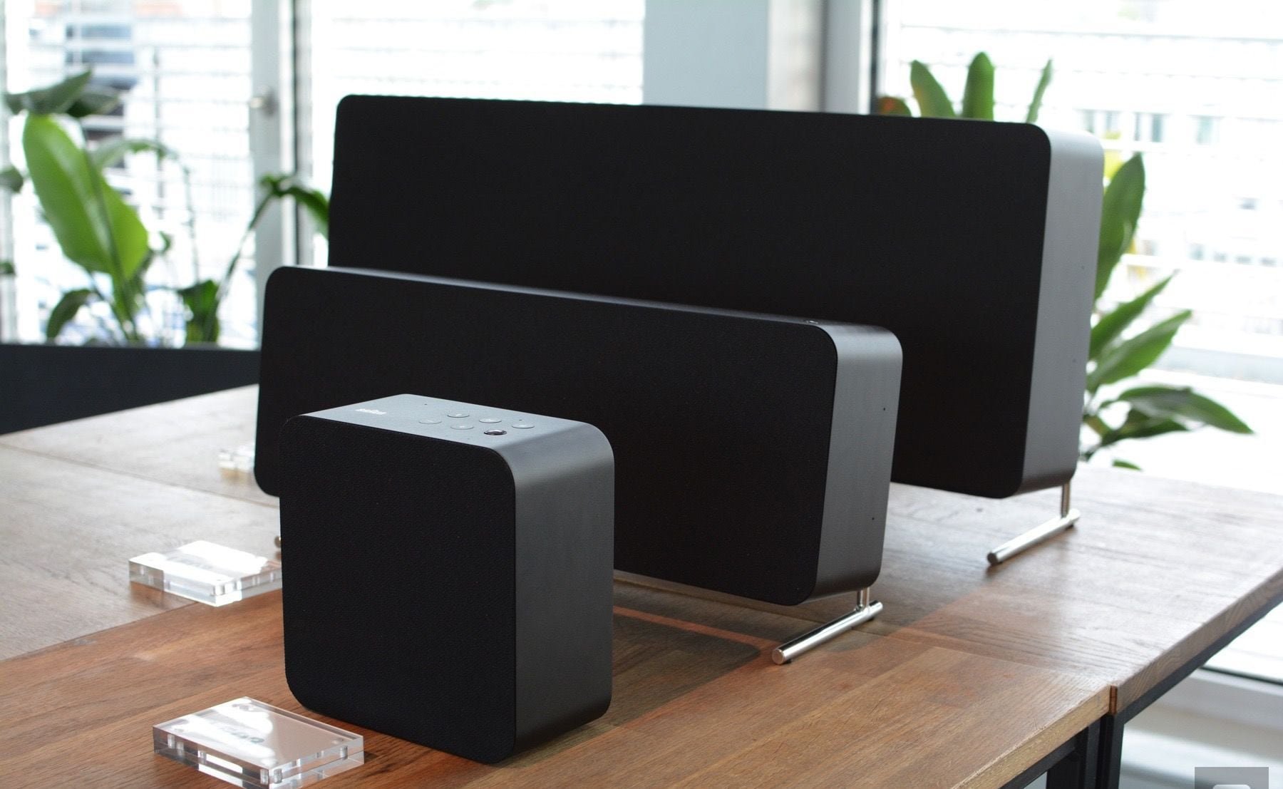Braun LE Series Speaker Line is a modern take on a minimalist classic
