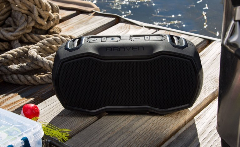 "Braven Ready Elite Bluetooth Waterproof <em class=""algolia-search-highlight"">Speaker</em> is housed in a drop-proof exterior"