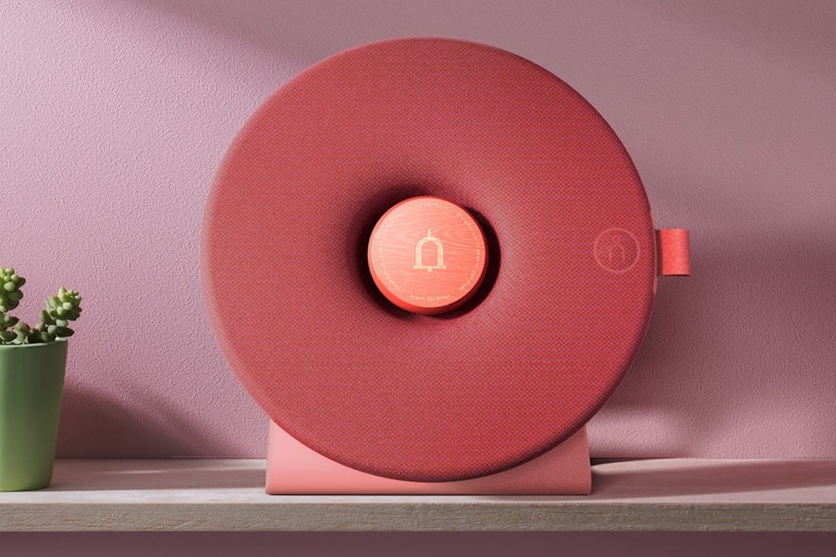 CareDot Oversized Emergency Button ensures telecare is always accessible