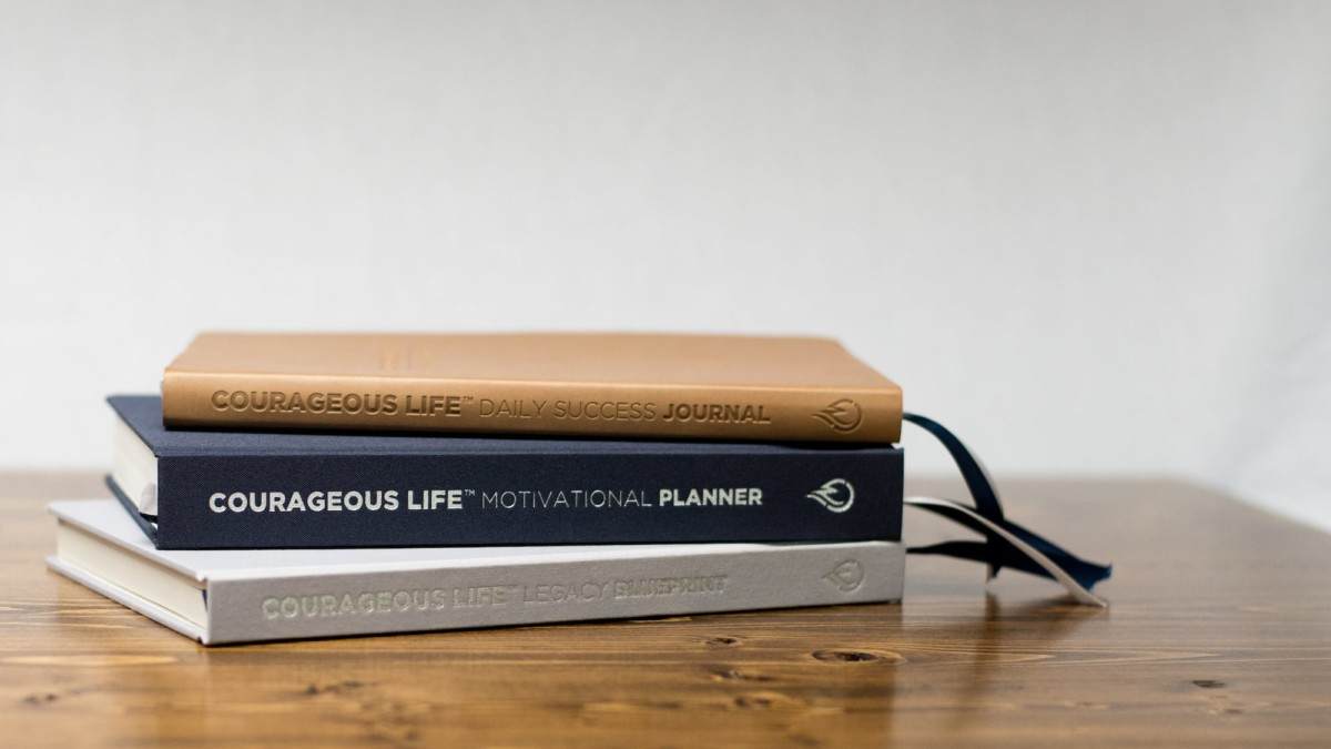 Courageous Life Planning System Goal-Achievement Journals will help you prioritize and live your dreams