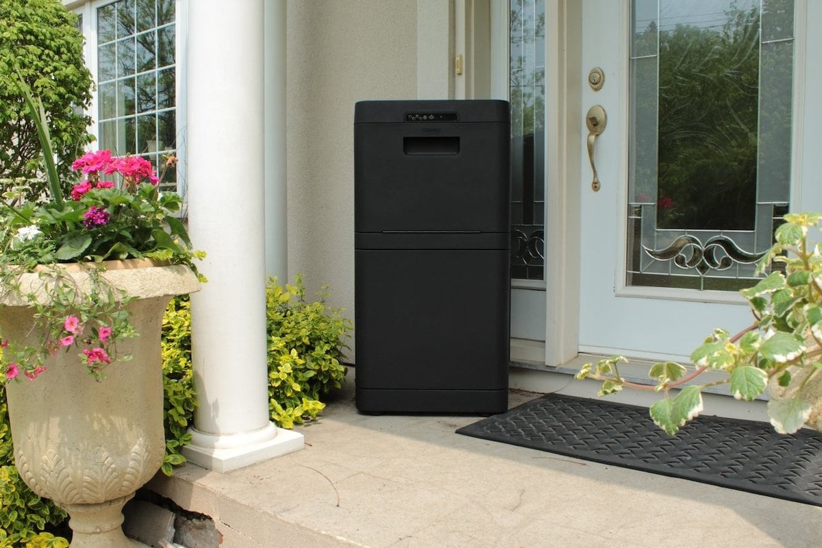 Danby Parcel Guard Secure Smart Mailbox protects your packages from theft