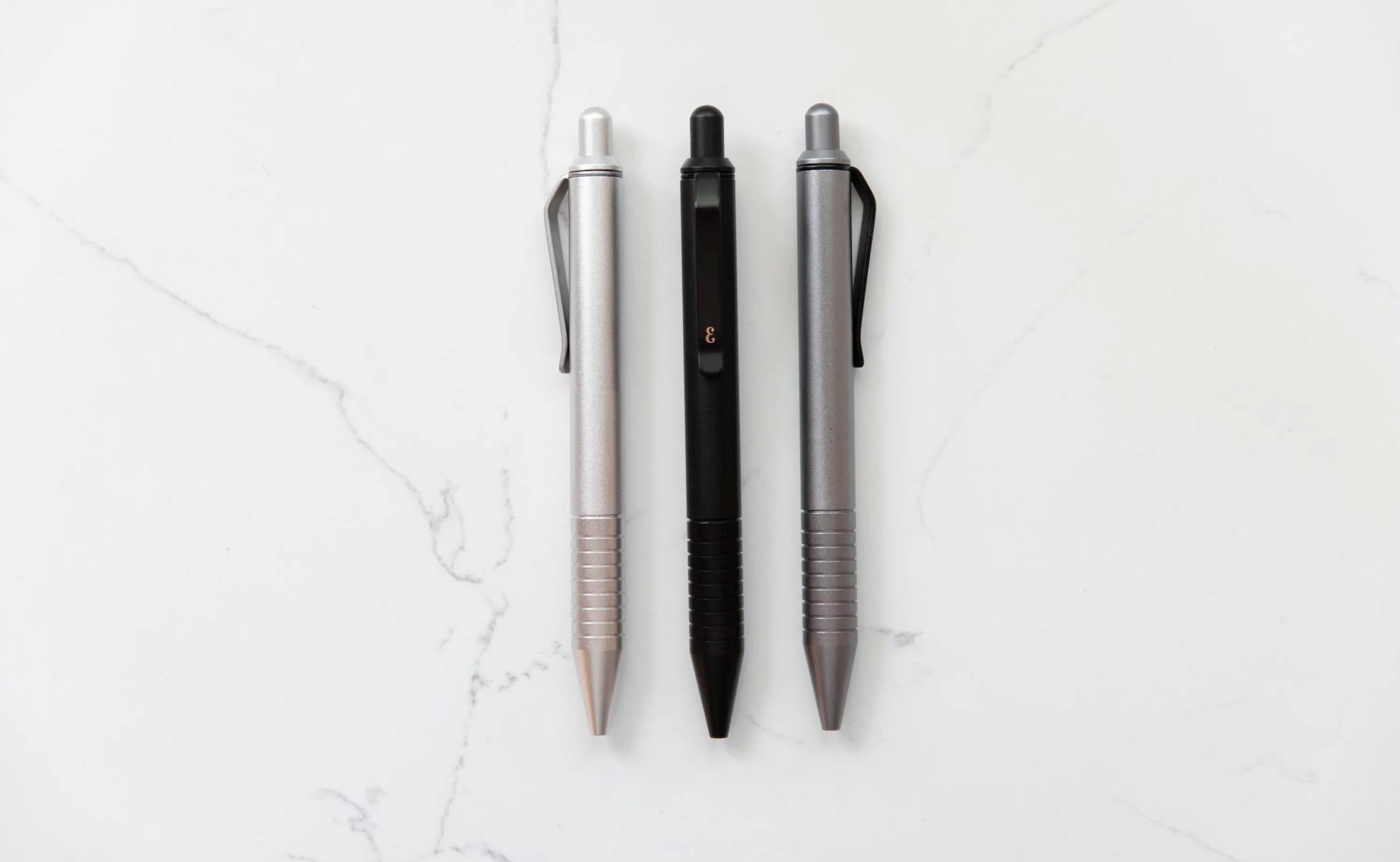 Everyman Grafton Mini EDC Twist Pen is easy to carry in your pocket
