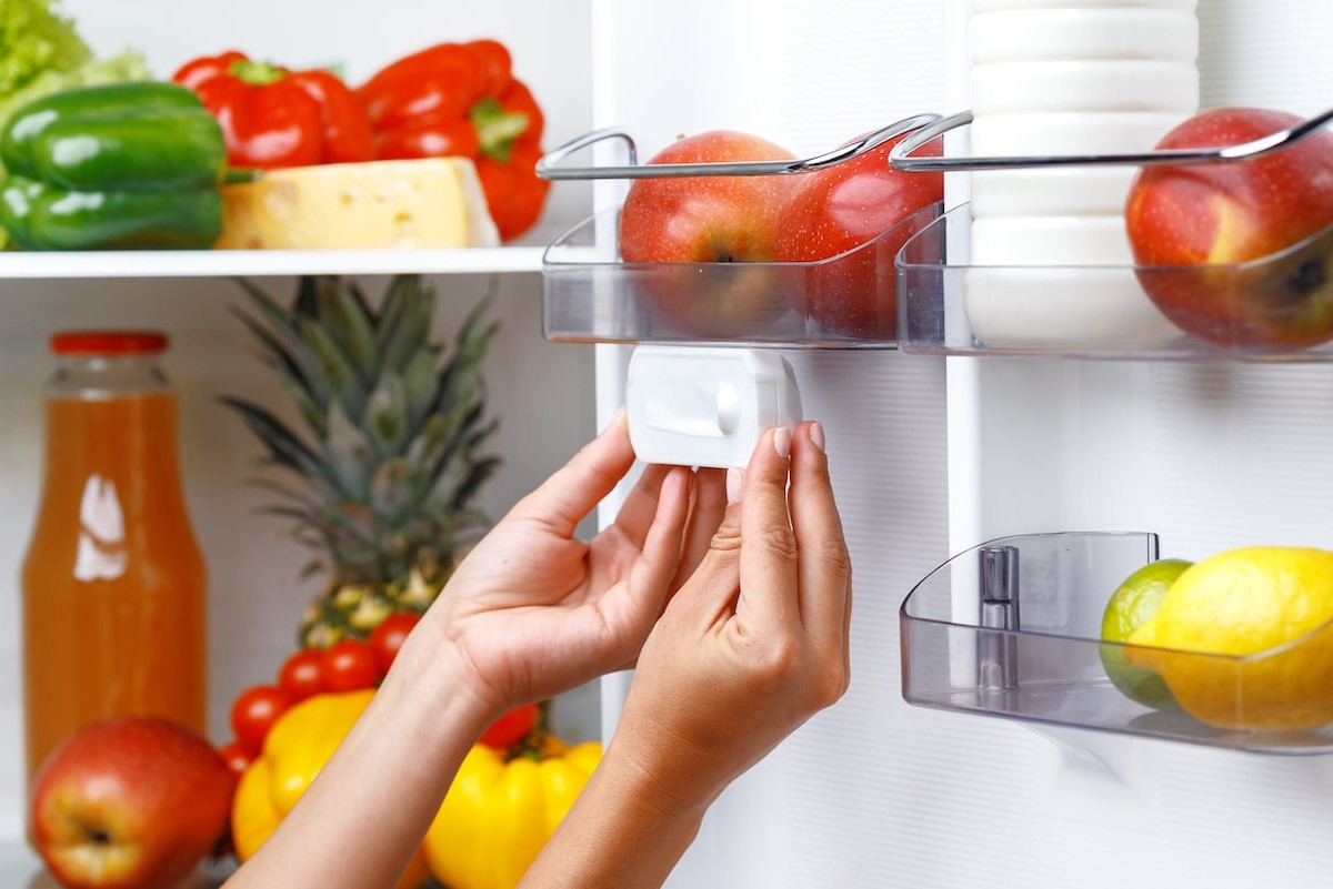Fridge Eye Smart Refrigerator Camera gives you a full view of your fridge