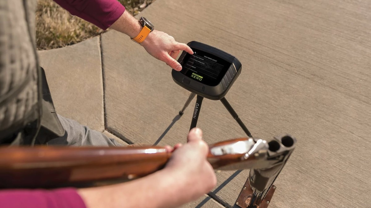 Garmin Xero S1 Trapshooting Live-Fire Trainer gives you immediate feedback