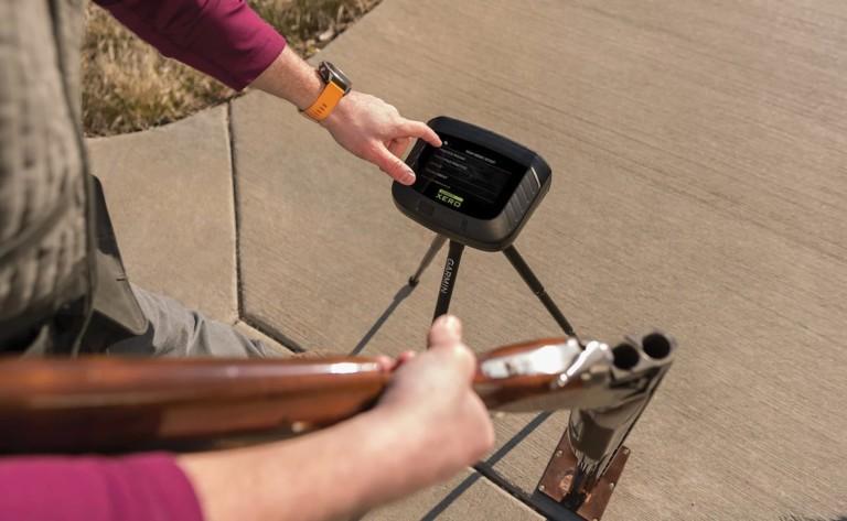 Garmin Xero S1 Trapshooting Live-Fire Trainer gives you immediate feedback