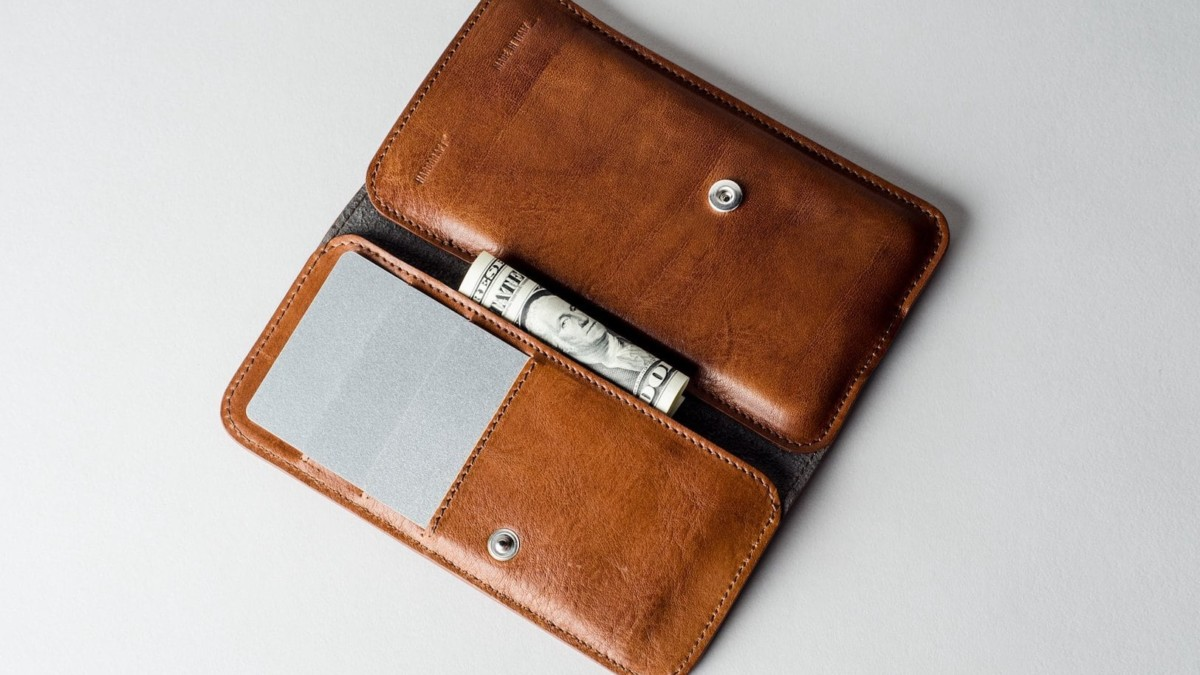 iPhone 11 Pro Cash Card Wallet Case by hardgraft provides quick-access spots for all your essentials