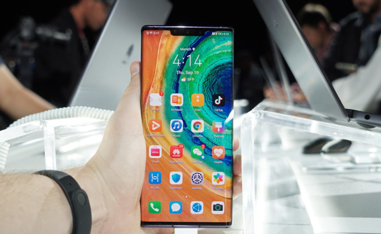 Huawei Mate 30 Endless Screen Smartphone Series include a halo-ring camera