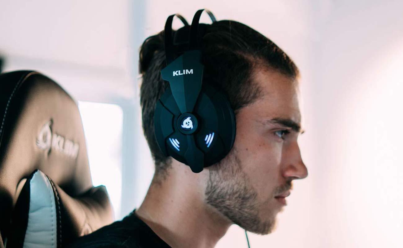 KLIM Impact USB Gaming Headset offers superior surround sound