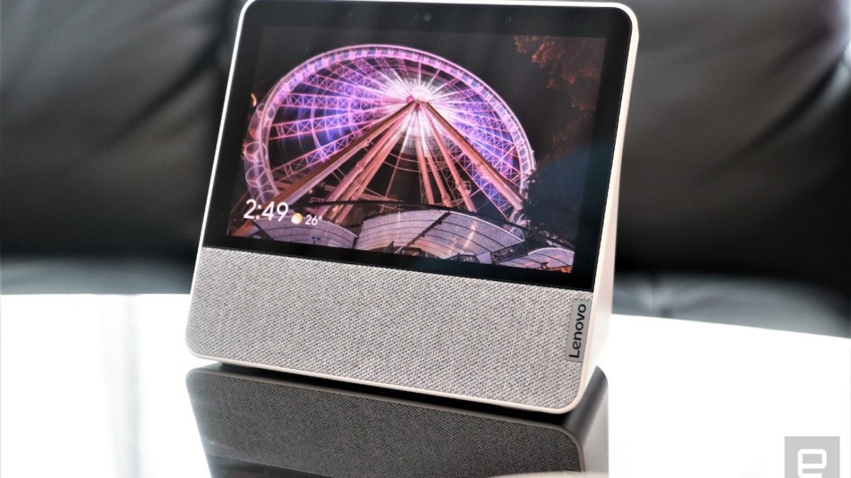 Lenovo Smart Display 7 Google Assistant Hub takes privacy up a notch