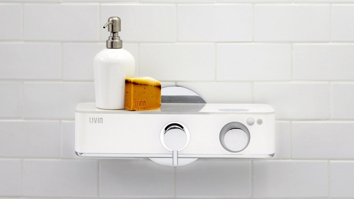 Livin Shower Plus Personalized Bathing Device ensures you get water that's the perfect temperature