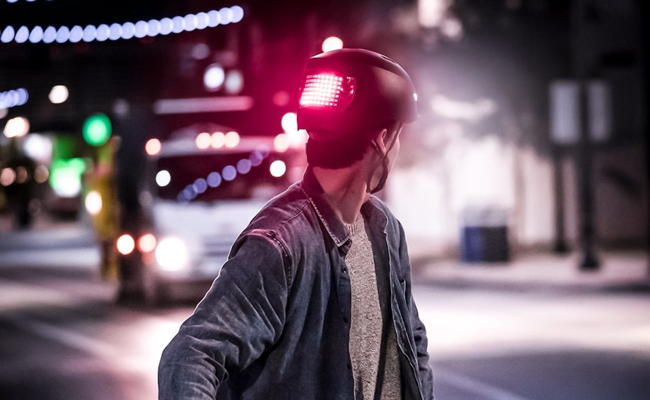 Lumos Matrix and Street Bright Helmets ensure you're seen on the road