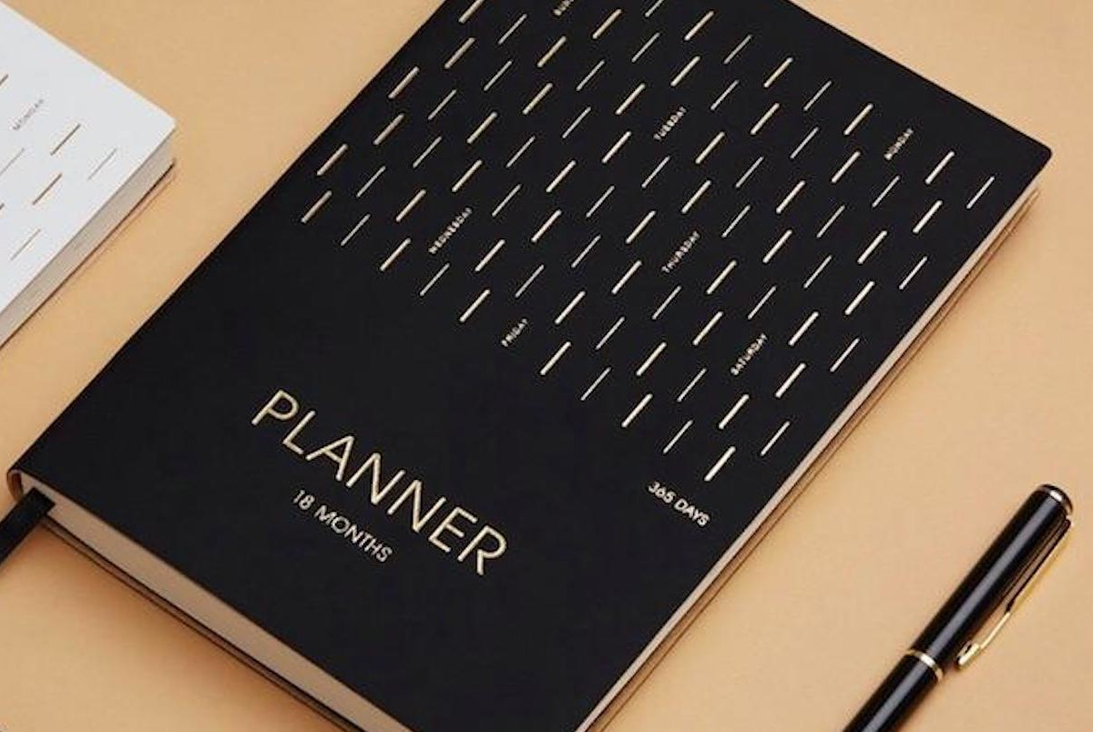 Minimalist 18-Month A5 Daily Planner is practical for daily use