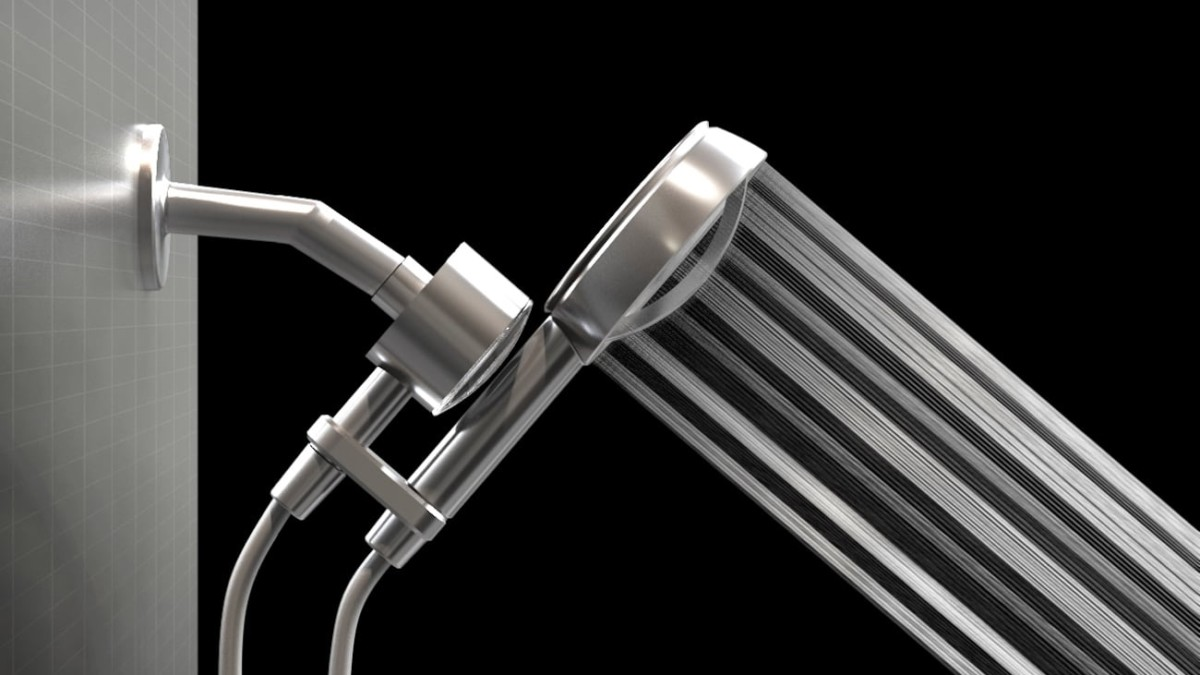 Mission8 5-in-1 Filtering Shower Head delivers 3x stronger water pressure