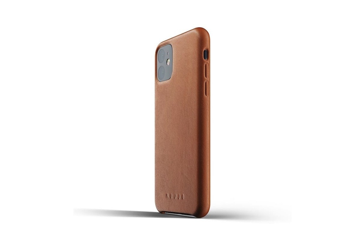 Mujjo Full Leather Case for iPhone 11 Pro, iPhone 11 sleekly protects your new smartphone
