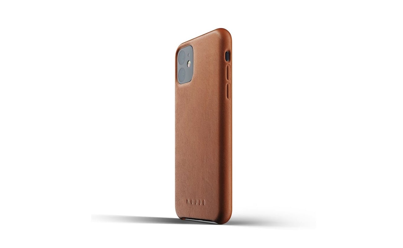 Mujjo Full Leather Case for iPhone 11 Pro, iPhone 11 sleekly protects your new smartphone loading=