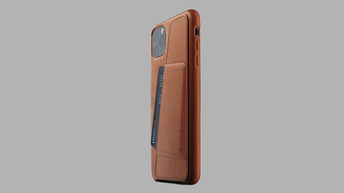 Mujjo Full Leather Wallet Case for iPhone 11, iPhone 11 Pro Max keeps your cash and phone together