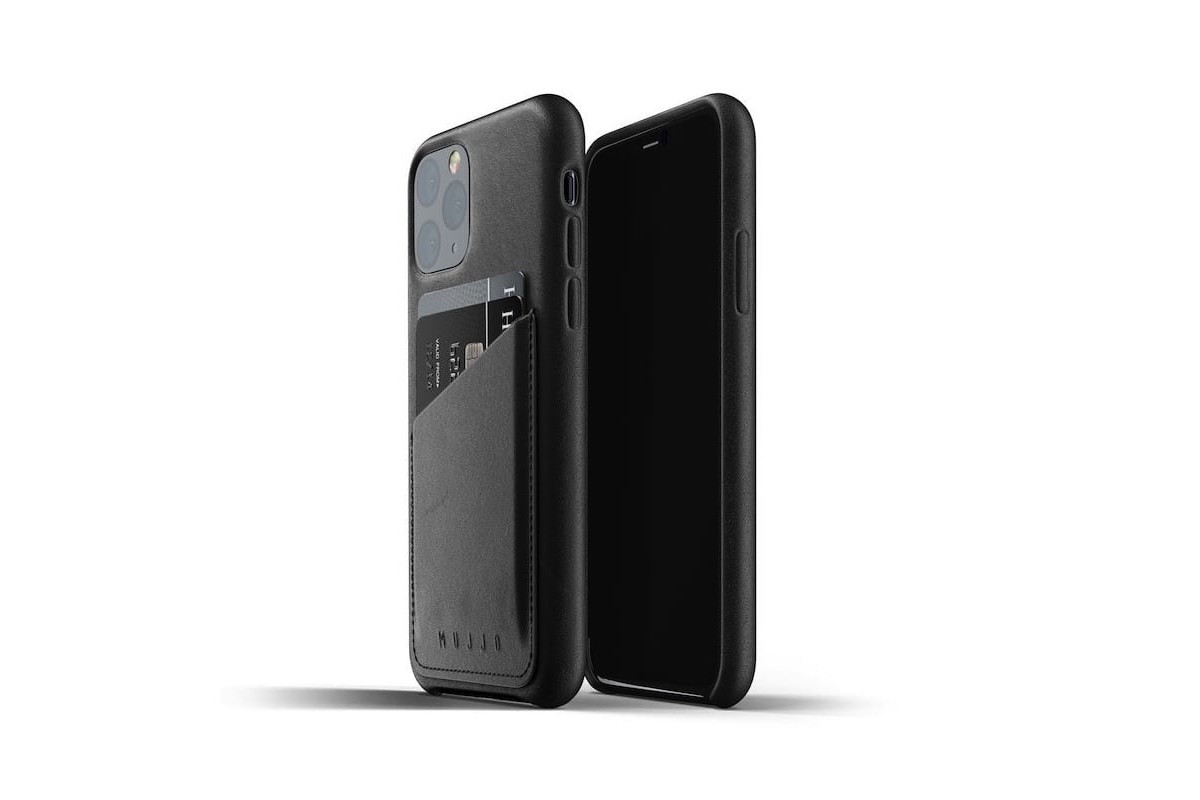 Mujjo Full Leather Wallet Case for iPhone 11 Pro makes it harder to misplace your essentials