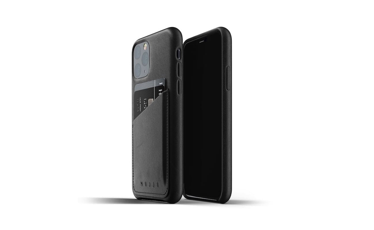 Mujjo Full Leather Wallet Case for iPhone 11 Pro makes it harder to misplace your essentials loading=